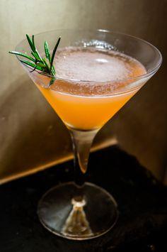 The Sunday Cocktail: Mandarin and Rosemary Martini