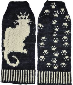Free Cat on a Wall Mittens Knitting Pattern, Violet Green Hand Dyed Yarn and Knitting Shop