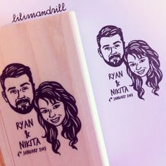 Custom Portrait Stamp @lilimandrill www.lilimandrill.fr #etsy #coupleportrait #EtsyGifts #bachelorette #etsywedding #wedding #mariage #bride #diy #couple #stamp #giftforcouple #gift #weddinggift #DifferenceMakesUs #invites #party #engagement #bride