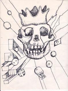kinda feel it's too. City Art, Skull, Feelings, Tattoos, Image, Tatuajes, Japanese Tattoos, Tattoo, Tattoo Illustration