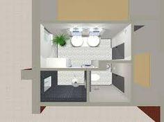 """Résultat de recherche d'images pour """"plan chambre et salle de bain"""""""