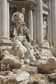 Rome. Trevi Fountain
