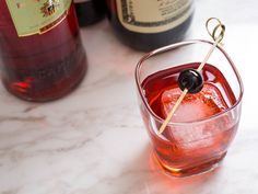 When it comes to liqueurs, this bitter, herbal, and fruity aperitif is one of our go-tos. Dark red Campari adds bold flavor wherever you pour it, equal parts sweetness and bitter punch. Start with one of these 16 cocktails, and then work your way down the list, one happy hour at a time. \n