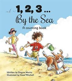 """""""Will a day at the sea be filled with numerous things to eat, play, watch and do? Will there by rhymes and wordplay and lots of fun things to say aloud? Will there be delicate, detailed, light-filled illustrations? You can count on it!"""" #awardwinning Best Children's Books of the Year, Bank Street College"""