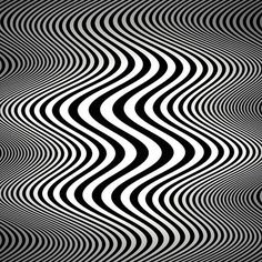 Op art waves (Tribute to Bridget Riley)- by Marco Braun Illusion Kunst, Illusion Art, Principles Of Art Balance, Motif Art Deco, Art Worksheets, Jolie Photo, Art Graphique, Psychedelic Art, Optical Illusions