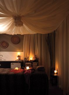 Asante Day Spa    Day spa    massage therapy room    esthetician room    aesthetician room    esthetics    skin care    body waxing    hair removal    body scrub    body treatment room #Massages