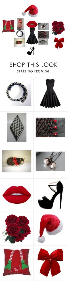 """""""Christmas coming"""" by mariellascode ❤ liked on Polyvore featuring Nintendo, Lime Crime, C & F and modern"""