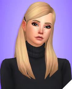 AUBREY HAIR • BGC • 18 EA Colors • Hat Compatible • Recolors Allowed(Don't include the mesh) • Also recolored in @dustflwr Anathema Palette • Custom Thumbnails for all 3 files • Name by...