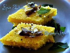Effervescence: Rawa dhokla (3 minute microwave recipe)