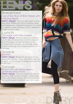 Leni's Model Management Food Diaries: TAYLOR Healthy Fiber, Model Diet, Breakfast Cups, Food Diary, S Models, Healthy Lifestyle, Management, Modeling, Training