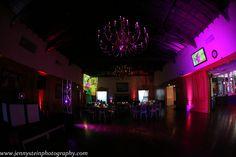 Lighting transformation - University Club of Pasadena - Purple - Red - bar bat mitzvah - DB Creativity - laura@dbcreativity.com - PC: Jenny Stein Photography