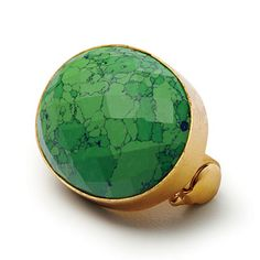 Green Turquoise Brooch from addisonweeks.com; $148