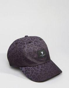 Devote Baseball Cap In Leopard Fade