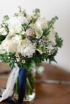A Scentful Spring Bridal Bouquet
