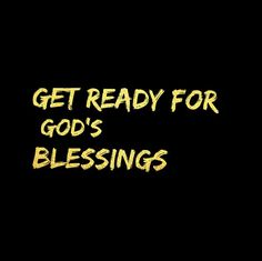 """0 Likes, 1 Comments - The Redeemed Way (@theredeemedway) on Instagram: """"Get ready for God's blessings! """""""