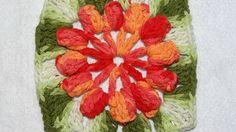 Ateliê do Barbante - Professora Simone: Flor em Barbante-ponto pipoca