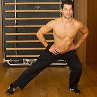 David Gandy Fitness and Training with GymBuzz ~ David James Gandy
