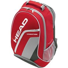 Head Prestige Tennis Backpack by HEAD. $39.95. HEAD developed the Prestige Ltd. Edition as a MUST-HAVE for the ambitious tennis player.. Save 43%!