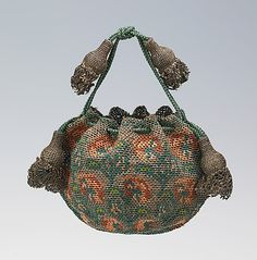 Pouch Date: fourth quarter 17th century Culture: European, Eastern Medium: silk, metal Accession Number: 2009.300.2069