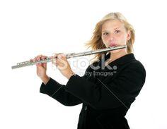 Royalty Free Photos, Flute, Teen, Stock Photos, Girls, Toddler Girls, Daughters, Maids, Flutes