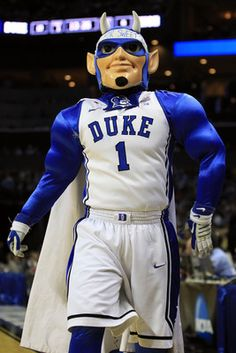 Duke Blue Devils mascot!! GO DUKE!!
