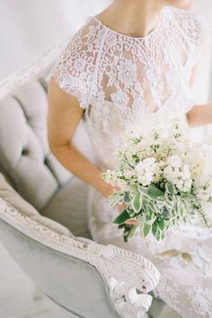 vintage parisian wedding inspiration   rue de seine gown   aandbe bridal shop