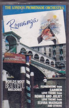 The London Promenade Orchestra-Romanza Cassette Tape (CBS Special, BT21113)  #ConcertoFugueMass