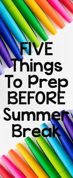 Five Things To Do at the End of the Year | Thrifty in Third Grade