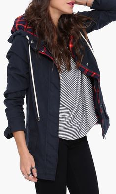 Cute parka for fall