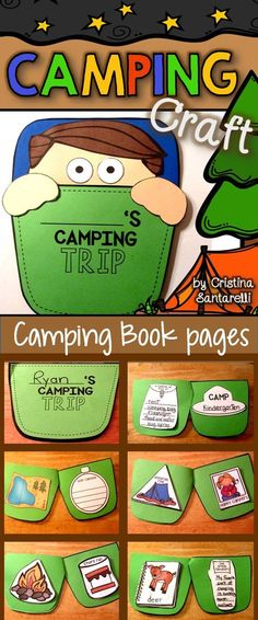 Camping Craft! Camping Activities For Kids, Camping Games, Camping Ideas, Camping Essentials, Summer Activities, Preschool Camping Crafts, Campfire Crafts, Camping Supplies, Kids Crafts