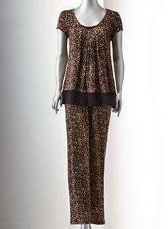 Simply Vera Vera Wang Basic Luxury Fashion Pajama Separates