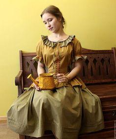 Dresses handmade.  Order Summer Cotton Dress.  Elena Golovin Popular tradition (nartrad).  Arts and crafts fair.  Boho Dress