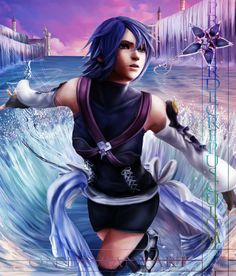 Kingdom Hearts - Aqua by ProcerDeCrepusculum.deviantart.com on @deviantART