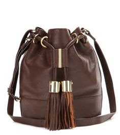 See By Chloé Vicki Small Leather Bucket Bag For Spring Summer 2017