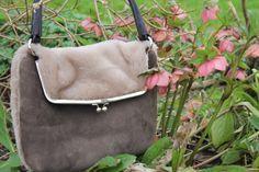 Sherban sheepskin handbag with a Dorset story - Alice wood Design
