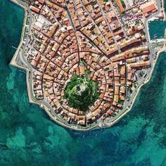 Gruissan, France - Jessa Home France Photography, Aerial Photography, Night Photography, Vue Satellite, Urban Fabric, Aerial Drone, Birds Eye View, Urban Planning, Aerial View