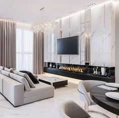 gorgeous living room furniture design very effective to living room remodel Home Living Room, Interior Design Living Room, Interior Livingroom, Modern Apartment Design, Living Room Tv Unit Designs, Home Room Design, House Rooms, Art Interiors, Design Art