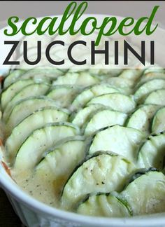 A quick and easy way to make a zucchini version of the classic comfort food! Great way to use up all that extra zucchini from the garden!