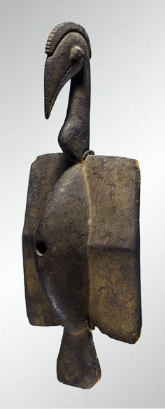 Africa | Bartos Bird from the Senufo people of the Ivory Coast | Wood | ca. early to mid 1900s