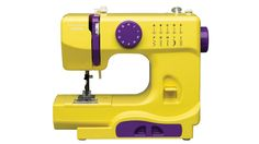 A recommended child's first machine - Janome Fast Lane Fuchsia Portable Sewing Machine