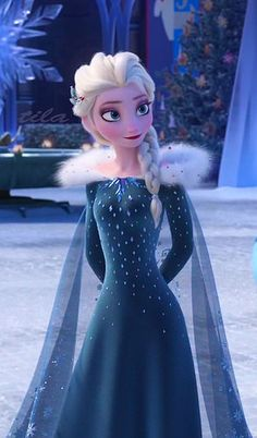 Elsa – Olaf's Frozen Adventure - Disney princess Disney Princess Frozen, Disney Princess Pictures, Disney Princess Drawings, Cute Disney, Walt Disney, Disney Pixar, Elsa Hot, Images Disney, Elsa Images