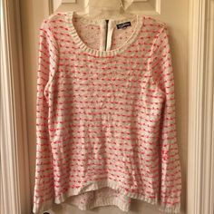 Freshman NWT sweater size XL NWT sweater has a back zip closure Size XL tag attached no flaws Freshman Sweaters