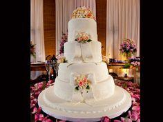 Topo de bolo: flores
