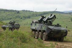 Czech Army Pandur II 8x8