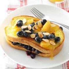Blueberry-Stuffed French Toast