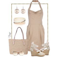 Natural Neutrals, created by Diane on Polyvore