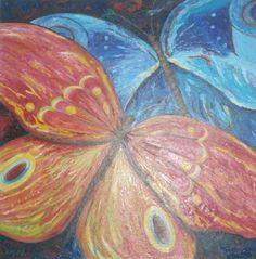 Farfalle 2002 oil on canvas Ula Markiewicz