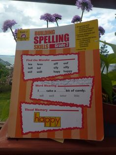 Evan-Moor's Building Spelling Skills #review. Easy to use and fun spelling practice. #homeschool