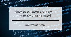 WordPress, Joomla czy Drupal – który CMS jest najlepszy? CMS to systemem zarządzania treścią, który umożliwia użytkownikowi samodzielne modyfikowanie treści na stronie internetowej, bez znajomości zaawansowanych technologii takich jak PHP, HTML czy CSS. Zamiast tworzyć stronę www przy pomocy skomplikowanego języka programowania, możemy wykorzystać dostępne CMS-y takie jak WordPress, Joomla czy Drupal. Stając przed wyborem […]