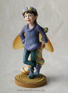 Missing Sock Household Fairy Figurine by brownieman on Etsy, $12.00